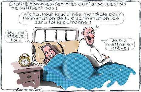 Égalité Homme-Femme au Maroc : Les lois ne suffissent pas | Le Soir-echos | Geschwister | Scoop.it