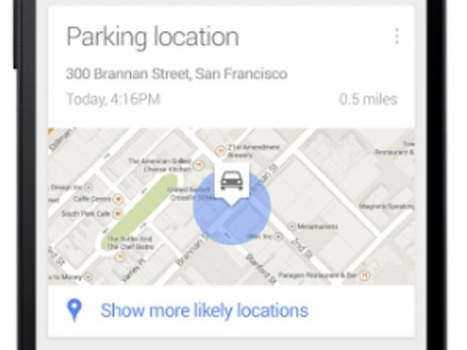 Dude, where's my car? Google Now knows - CNET | News | Scoop.it
