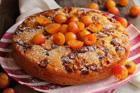Gâteau renversé aux mirabelles   Couture, cuisine jardinage   Scoop.it