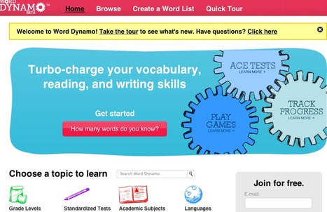 How many words do you know?   Word Dynamo by Dictionary.com   VOCABULARY   Scoop.it