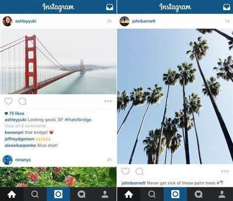 Wide and Tall: Instagram Now Allows Landscape and Portrait Photos | Kickin' Kickers | Scoop.it