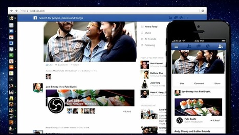Facebook Update Gives Users More Control Over News Feed: What Marketers Should Know | Social Media Moves | Scoop.it