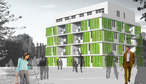 Biofacade: Building powered by algae growing on its facade | Trending Microbes | Scoop.it