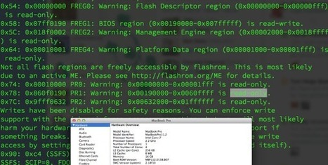 New exploit leaves most Macs vulnerable to permanent backdooring | Technology by Mike | Scoop.it