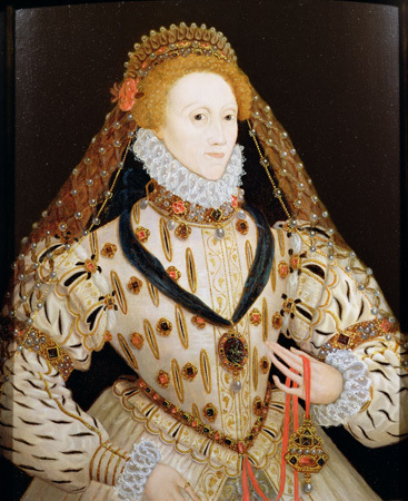Elizabeth I, Queen of England  from 1558 to 1603. | Lives of the nobility in England during the reign of Elizabeth I and James I | Scoop.it