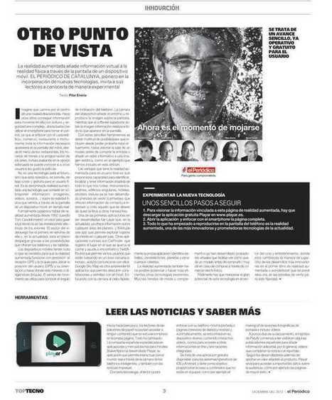 Realidad aumentada en las noticias   realidad aumentada v   Scoop.it