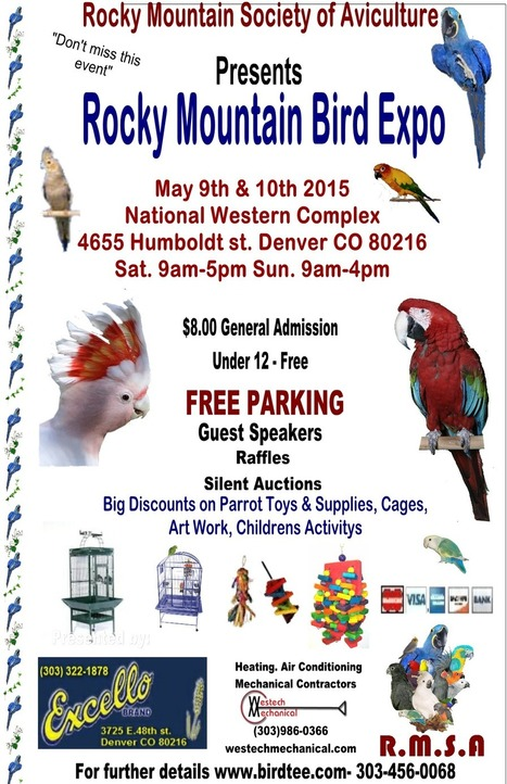 Rocky Mountain Society of Aviculture | Innovative Marketing and Crowdfunding | Scoop.it
