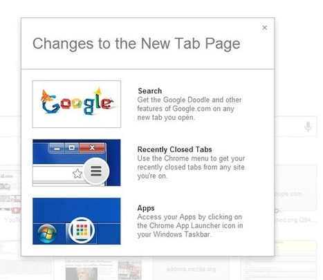 Changes to Chrome's New Tab Page | GooglePlus Expertise | Scoop.it