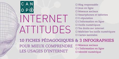 Le kit Internet Attitudes gratuit & en téléchargement : 10 fiches et 3 infographies #EcoleNumerique | Des ressources pour enseigner au collège | Scoop.it