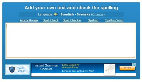 Online Spell Check | Orangoo Empire | Folkbildning på nätet | Scoop.it