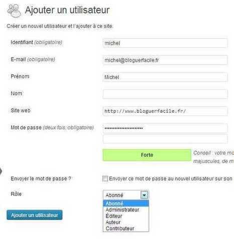 Les comptes Wordpress : comment les gérer | bloguer facile | Planete blogs | Scoop.it