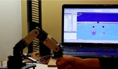 Robot arm provides haptic feedback from the virtual world | Maker Stuff | Scoop.it