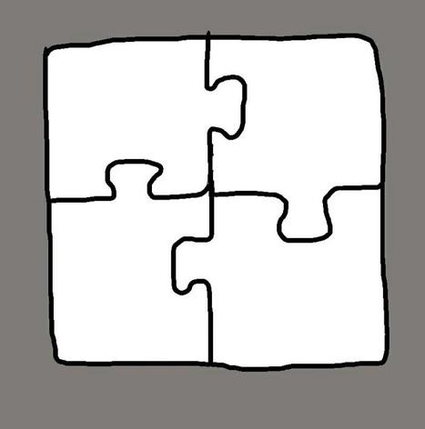 Bloody simple jigsaw | Art | Scoop.it