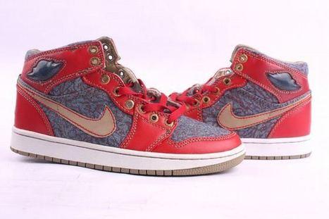 Nike Air Jordan 1 Retro Red/Grey Men's | new and popular list | Scoop.it