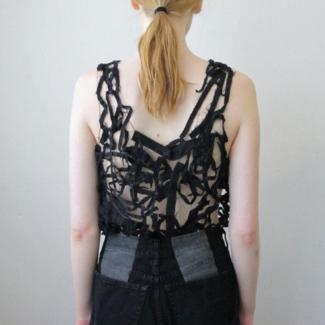 Restructional Clothing by Ninna Berger | Eco Fashion Design | Scoop.it