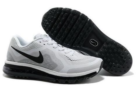 Men Nike Air Max 2014 Shoes 04 White Black | Online Shopping | Scoop.it