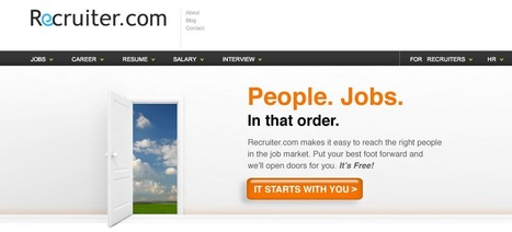 Recruiter.com :: Putting People First. Find a Better Job. We Open Doors for You. | Employer branding | Scoop.it