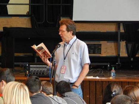 Author Peter Johnson visit Tiverton Middle School students | TMS Rocks! | Scoop.it