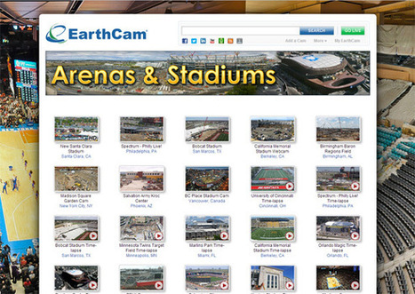 EarthCam - Construction Camera Time-lapse video of Stadiums and Arenas | Sports Facility 4334304 | Scoop.it
