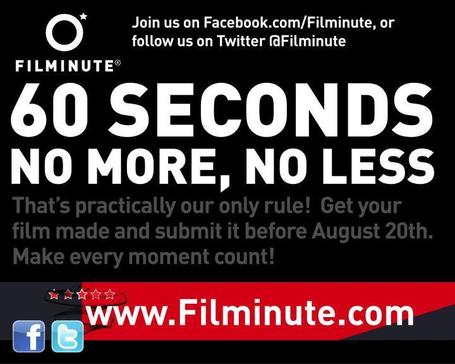 Filminute: The International One-Minute Film Festival 2012 | Machinimania | Scoop.it