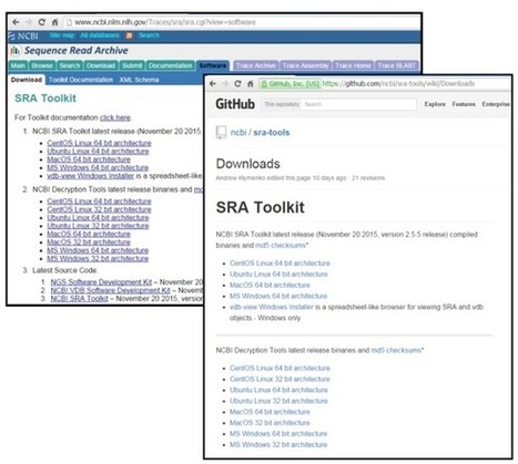 SRA Toolkit: the SRA database at your fingertips   Bioinformática   Scoop.it