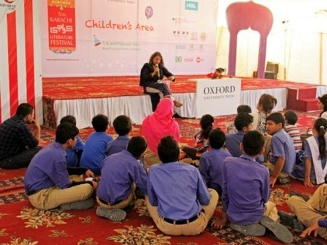 For the love of books: Children's Literature Festival grows up with own identity - The Express Tribune | Literary Festivals & Book Award News | Scoop.it