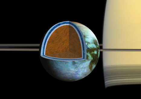 Ocean on Saturn moon could be as salty as the Dead Sea   Physics   Scoop.it