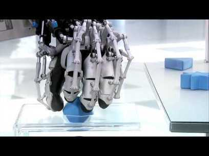 ExoHand by Festo, A custom 3d printer made exoskeleton robotic hand demo | Digital Design and Manufacturing | Scoop.it