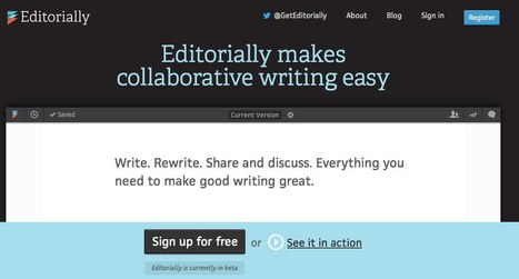 Editorially - making collaborative writing easier | Social Media | Scoop.it