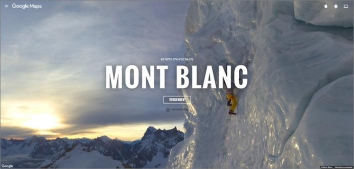 Edu-Curator: Voor de aardrijkskundeles! Met Google Maps / Street View op de Mont Blanc | Educatief Internet - Gespot op 't Web | Scoop.it