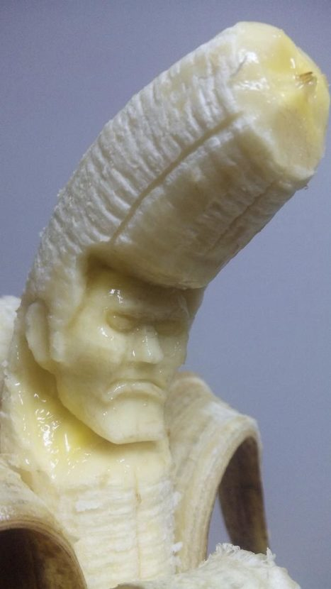 Laughing Squid Links • Wonderfully Creepy Sculptures Carved From Bananas   In Today's News of the Weird   Scoop.it