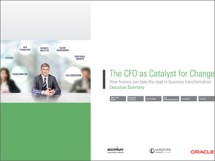The CFO as a Catalyst for Change | Corporate Finance Professionals | Scoop.it