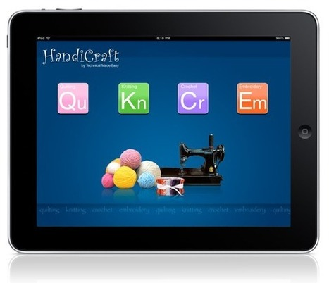 Learn Crafts on Your iPad | IPAD APPLICATIONS FOR TEACHERS | Scoop.it
