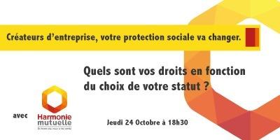 Créateurs d'entreprise, quels sont vos droits en fonction du choix de votre statut ? le Jeudi 24 Octobre dès 18h30 à La Cantine Toulouse   La Cantine Toulouse   Scoop.it