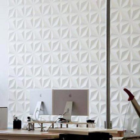 Paneles 3D, modulares y decorativos. Fotos, precio e instalación | Mil Ideas de Decoración | Decoración de interiores | Scoop.it