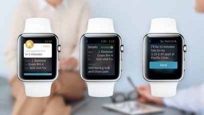 Kareo Launches Apple Watch App To Improve Medical Practice Efficiency | Trends in Retail Health Clinics  and telemedicine | Scoop.it
