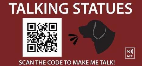 Talking Statues on Twitter | QR Code Art | Scoop.it
