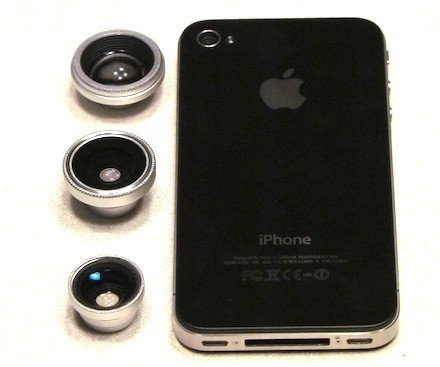 Photojojo phone lenses give your iPhone a new set of eyes - tuaw.com | Appertunity's fun & creative iphone news | Scoop.it