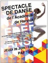 JEUDI 26/06 > SPECTACLE DE DANSE À L'ACADÉMIE DE HANNUT   regime   Scoop.it