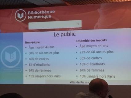 Bibliothèque Numérique de Paris : premières statistiques | Lecture, ressources et services numériques en bibliothèque | Scoop.it