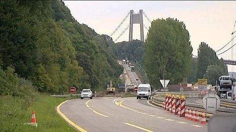Grands travaux aux abords du pont de Tancarville - France 3 Haute-Normandie | CCI Le Havre | Scoop.it
