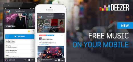 "Preparing for launch in the US, Deezer launches ""Flow,"" a free mobile service 