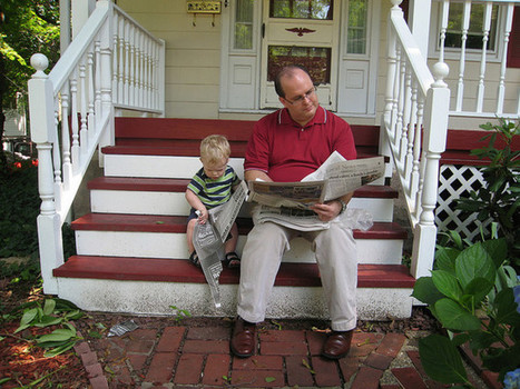 Fathers can make a difference in getting sons to read | Information Literacy & Inquiry Learning | Scoop.it