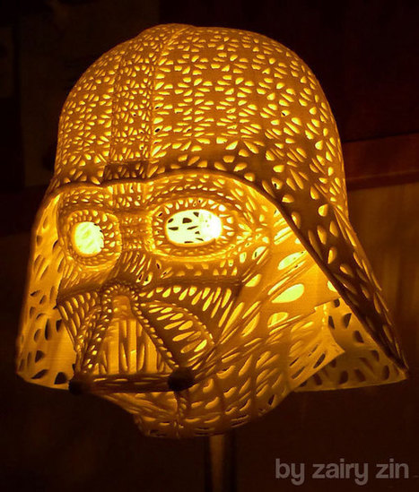 Gorgeous Darth Vader Lamp | On 3D-printing and the home factory | Scoop.it