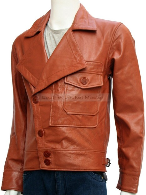The Aviator Movie Tan Leather Jacket | leather Craze | Scoop.it