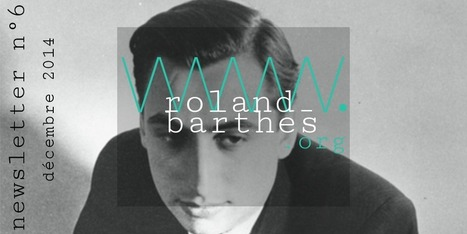 [site] La newsletter n° 6 du site Roland Barthes | Bureau de curiosités | Scoop.it