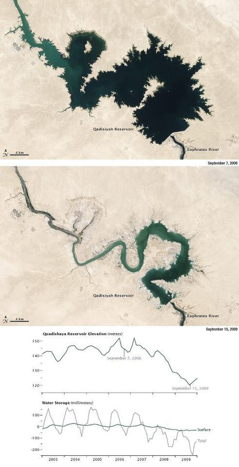 Freshwater Stores Shrank in Tigris-Euphrates Basin | Go Geo | Scoop.it