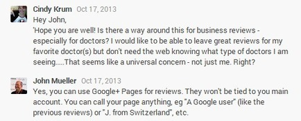 How To Leave Anonymous Business Reviews In Google+ | Online Marketing Updates | Scoop.it