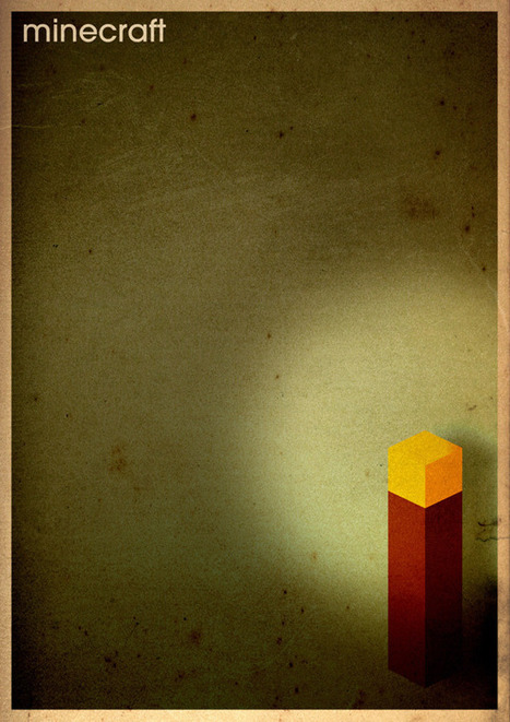Minimalist Graphic Posters Of Classic Video Games | Visual communication design | Scoop.it