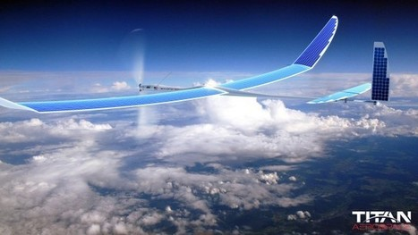 Premier vol d'essai réussi pour le drone Internet de Facebook | Drone | Scoop.it